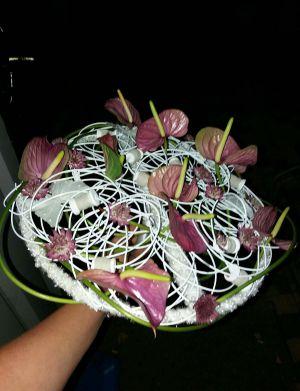 bruidsboeket lovely pink!!